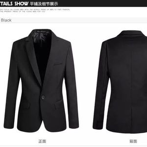 Other - Fashion Slim Fit Black Wool Suit New M